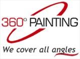 360 Painting of Austin/BastropLogo