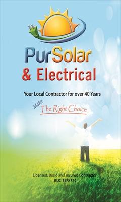 Pur Solar and electricalLogo