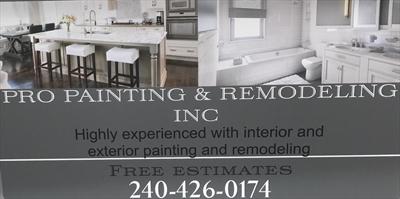 Pro Painting & Remodeling Inc.Logo