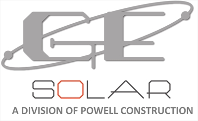 GE Solar / Division of Powell ConstructionLogo