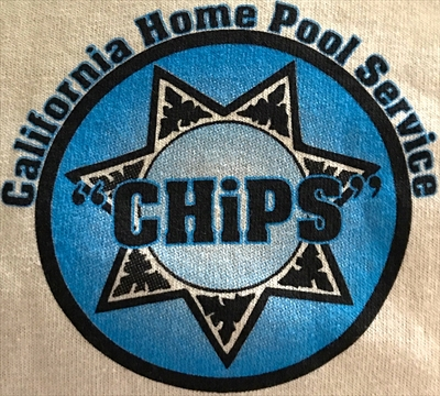 """California Home Pool Service """"CHiPS""""Logo"""