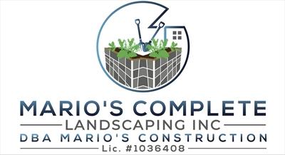 Mario's Complete Landscaping Inc. DBA Mario's ConstructionLogo