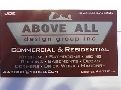 Above All Design Group Inc.Logo