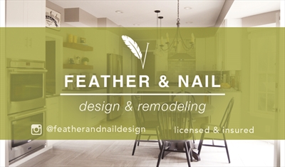 Feather & Nail Design & RemodelingLogo