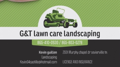G&T Lawncare and LandscapingLogo