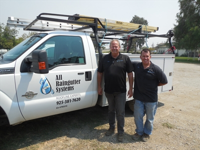 All Rain Gutter SystemsLogo