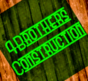 4 Brothers Construction Logo