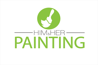 Him and Her PaintingLogo