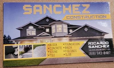 Sanchez ConstructionLogo
