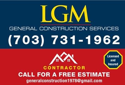 LGM General Construction ServiceLogo